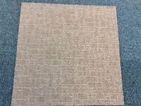 Carpet Tiles Beige Heavy Duty Used