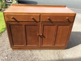 Sideboard solid wood good condition