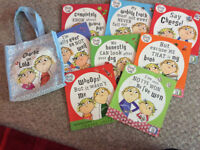 Charlie and Lola Book Set (and free bag)