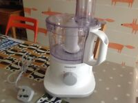 Morphy Richards small food processor, used once or twice, immaculate
