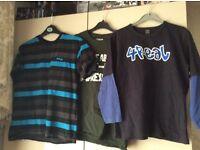 Boys teenage high street clothing