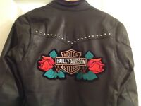 Ladies motorcycle jacket size small