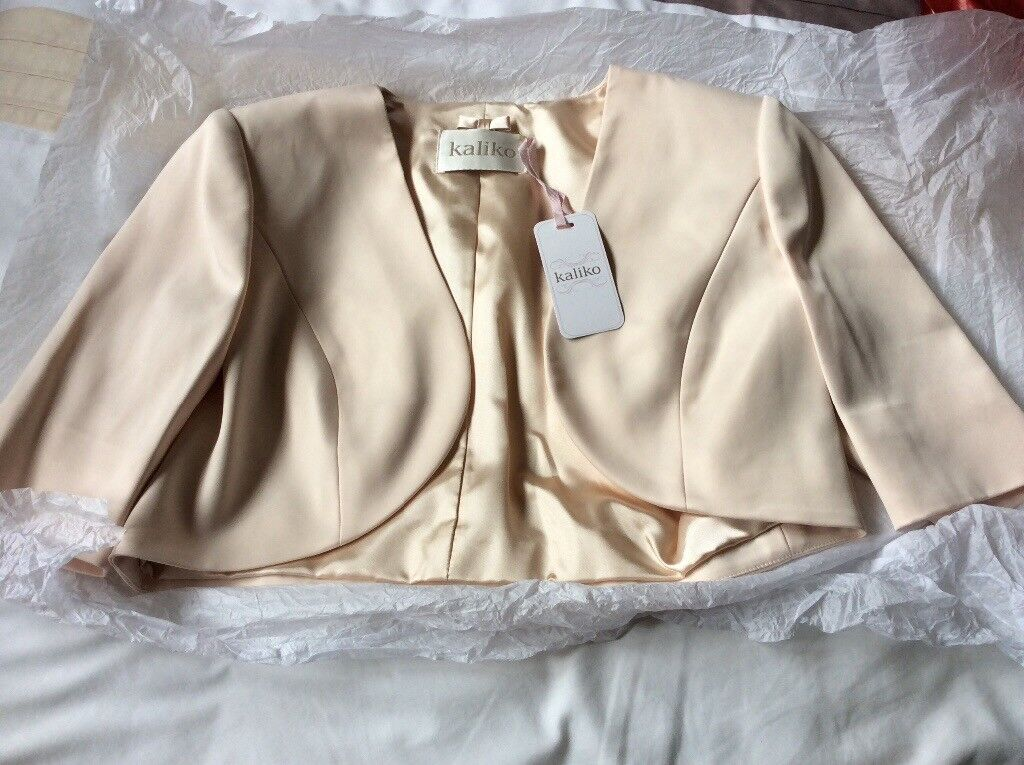 Kaliko Bolero Ivory Sheen Ideal For A Wedding Guest Outfit In Ayr South Ayrshire Gumtree