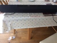 Philips sound bar nearly new.