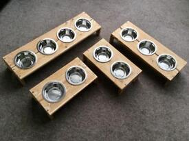 Pet Feeding Stations, and all new The Big Dog!! £12, £14, £16 And £30.