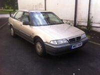 Classic Rover 218 TURBO DIESEL hatchback in great condition