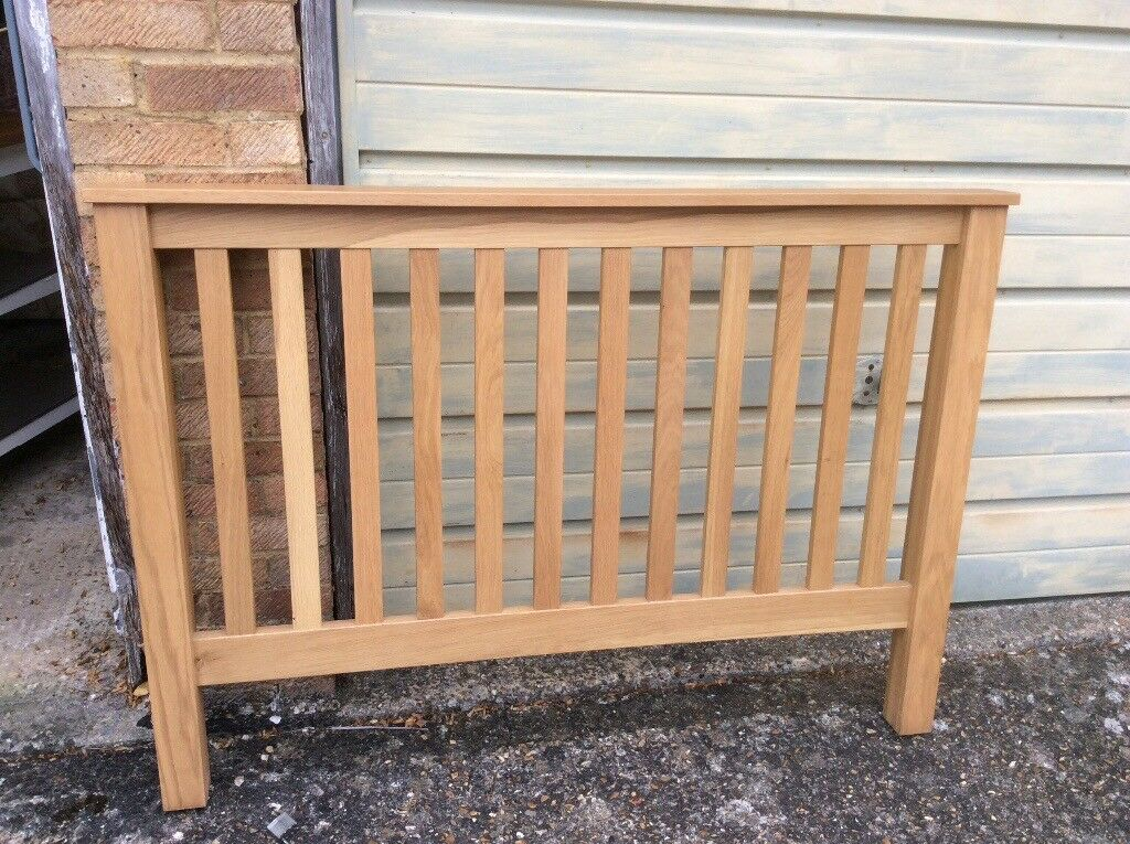 Lovely solid oak double bed frame