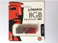 8GB USB Drive Memory Stick