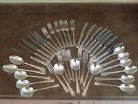 Arthur Price Silver Plated Cutlery (1) 41 pieces