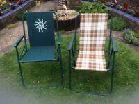 Lightweight Folding Garden chairs