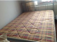 Double bed with or without matress