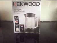 Kenwood Chef/Major glass blender AT 358, boxed with instruction as new