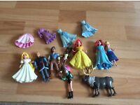 Disney princess minifigures magiclip