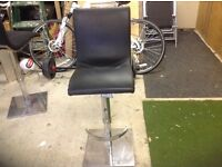 John Lewis black bar stools fantastic quality and condition rrp £260 each