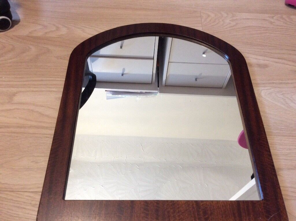 Excellent condition real wooden frame mirror
