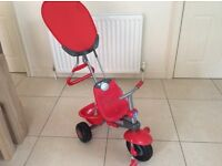 Red smart trike