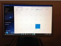 """Monitor 19"""" wide screen with inbuilt speakers"""