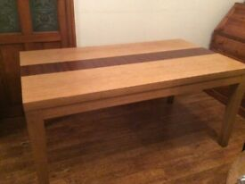 Solid wood dining table seats6-8 free to collector