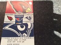 NFL tickets Sunday 22 october