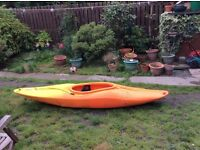 Pyranha kayak TG lite. Suitable for small adult or teen. Email for more details / photos.