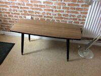 Genuine Retro Formica Top coffee Table .