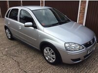 VAUXHALL CORSA 1.4 ACTIVE, FULL AUTOMATIC, SILVER, VGC, 2006.
