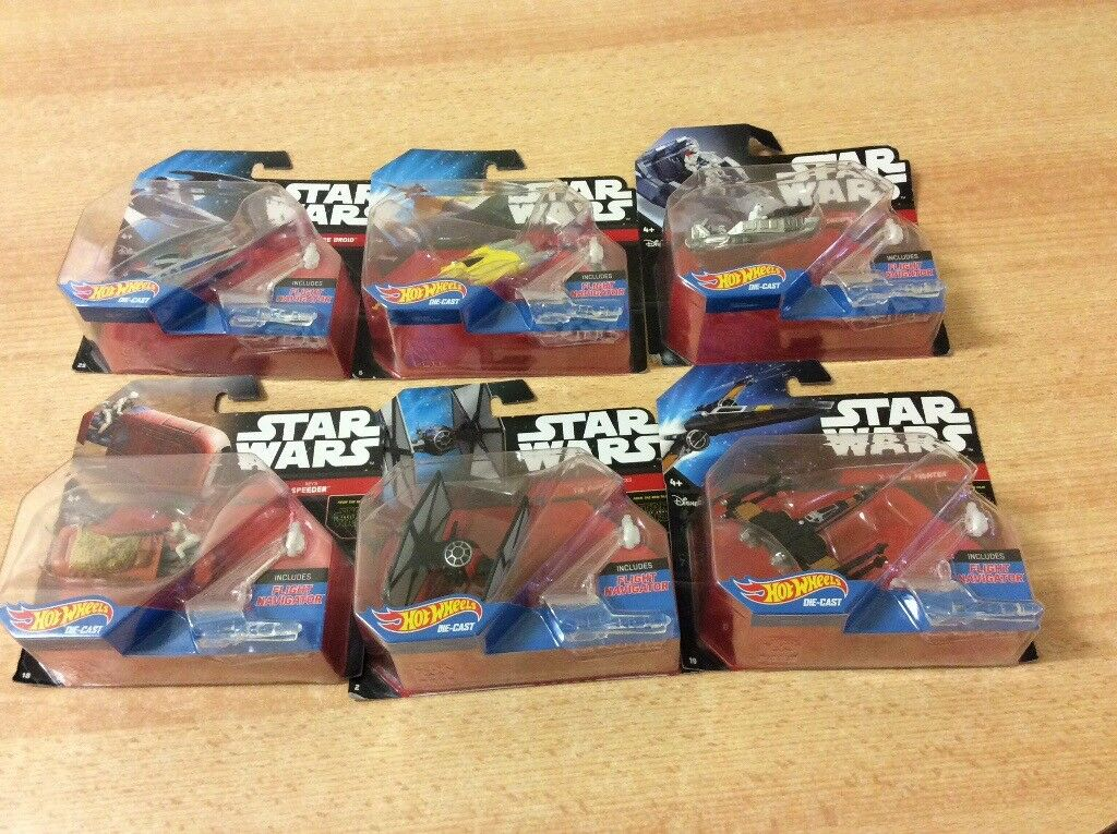Brand new Star Wars vehicles