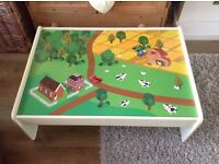 Reversible train activity table
