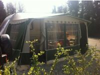 isabella caravan awning to fit 2 berth caravan or small 4 berth