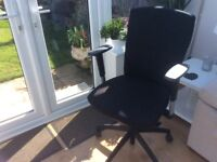 Good condition adjustable swivel chair