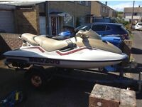 Seadoo gtx 3 seater jet ski 800 fuel injection