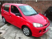 DIAHATSU YRV 1.0 **ONLY 22K FROM NEW**FULL SERVICE HISTORY**