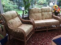 Conservatory set - sofa & 2 chairs