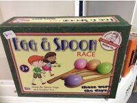 Children's egg & spoon game