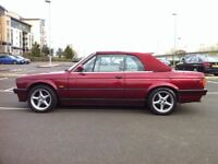 1992 BMW 318i CABRIOLET CONVERTIBLE E30, AUTO RUST FREE EXAMPLE