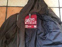 Super dry men's parka jacket. Used. Zip sometimes doesn't work.