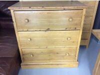 LaRage pine chest of drawers
