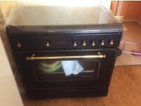 Sale for relocation Cooker 5 stoves with large oven Chocolate color