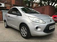 59 PLATE FORD KA STUDIO 1.2 PETROL 9 MONTHS MOT £30 YEARLY ROAD TAX LOW MILES SERVICED+WARRANTY