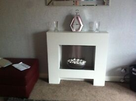 Very Modern and Contemporary Adam Fireplace Suite