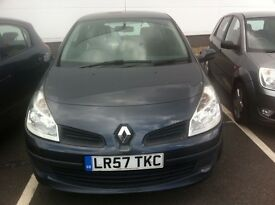 Renault Clio 1.5 dci injector fault