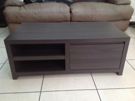 Brown coffee table from next