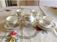 Royal Grafton fine bone china. 6 full place settings plus sugar bowl and milk jug