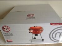 "MasterChef Professional Kettle Charcoal BBQ 22 ""- Removable Ash Catcher.Red Sparkle.New/Unopend."