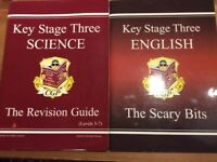 Key Stage Three English & Science Study Guides