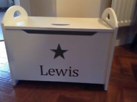 My first years brand new personalised toy box