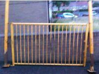 Heavy duty Steel gate with post