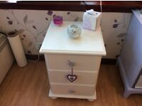 Solid, High Quality Bedside Cabinet