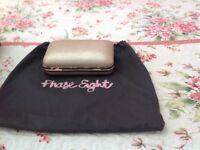 Ladies Phase Eight Gold Handbag