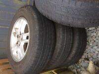 4 Freelander alloy wheels